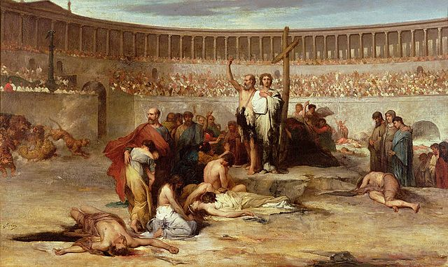 Romans persecuting Christians