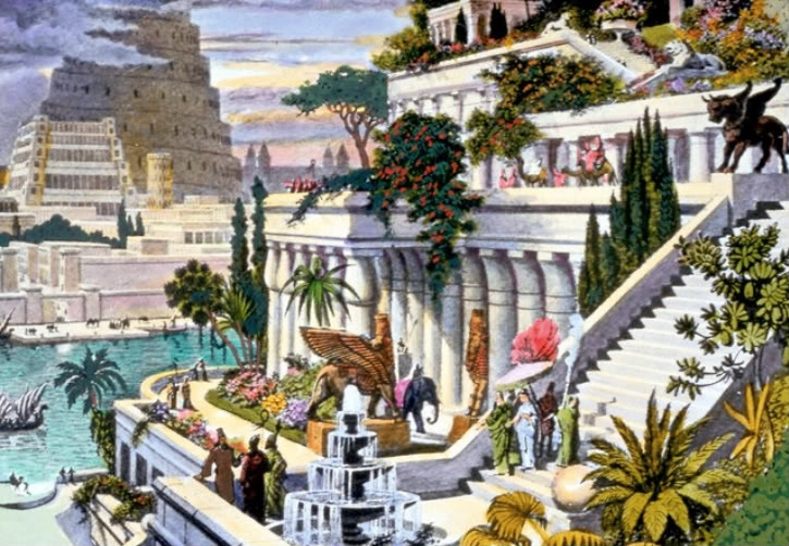 Euphrates River flowed through Babylon