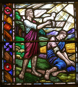 Cain and Abel offer sacrifice