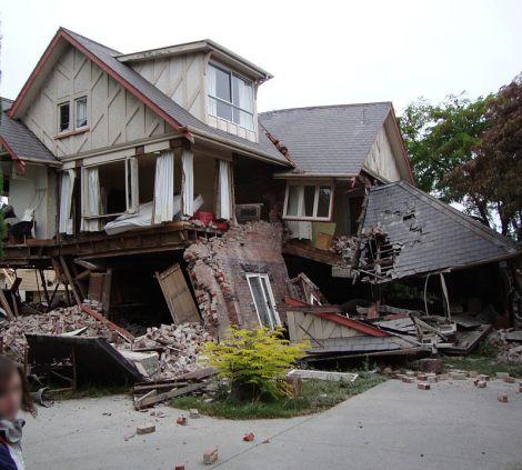 Kerosakan Gempa