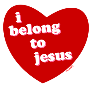 heart that belongs to Jesus