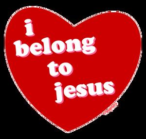 corazon que pertenece a jesus
