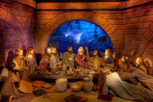 last supper with Jesus