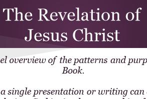 Revelation presentation cover