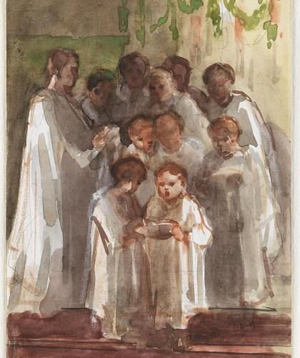 Singing in White Robes